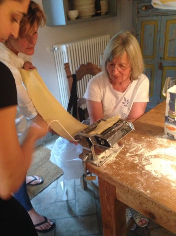 Special Events, Pasta Making at home